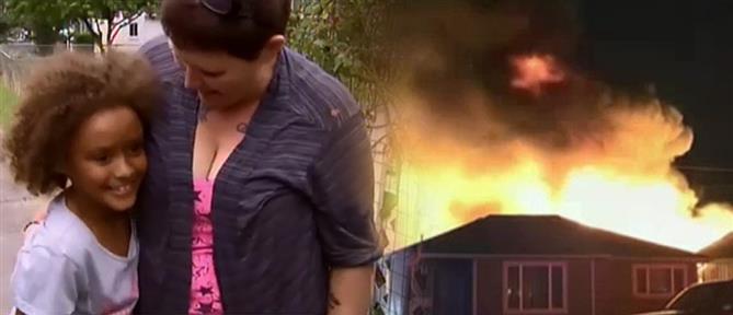 """""""Ηρωίδα"""" 8χρονη έσωσε την γειτόνισσα της από βέβαιο θάνατο (βίντεο)"""