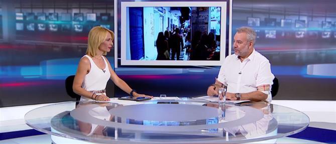 """Χατζησαλάτας στον ΑΝΤ1 για τα """"λαβράκια"""" των φορο-ελέγχων (βίντεο)"""