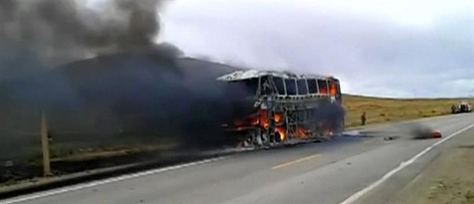 Κογκό: Δεκάδες άνθρωποι κάηκαν ζωντανοί σε δυστύχημα με λεωφορείο