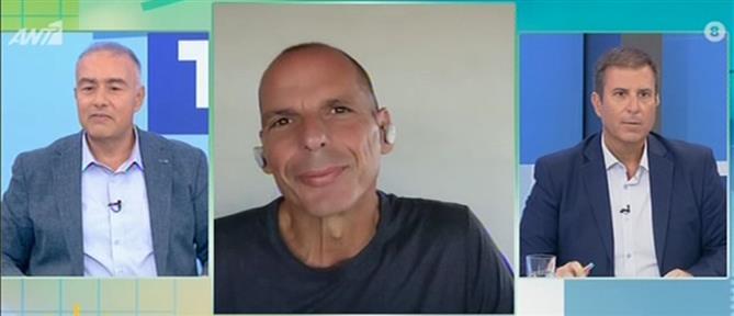 Βαρουφάκης στον ΑΝΤ1: δεδομένο το νέο μνημόνιο (βίντεο)