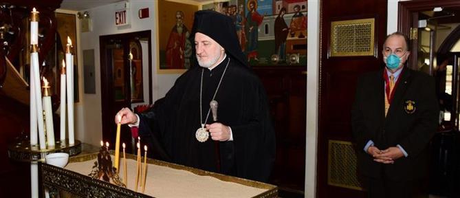 Με εντολή Ελπιδοφόρου, με χωριστά κουτάλια για κάθε πιστό η Θεία Κοινωνία στην Άμεση Αρχιεπισκοπική Περιφέρεια
