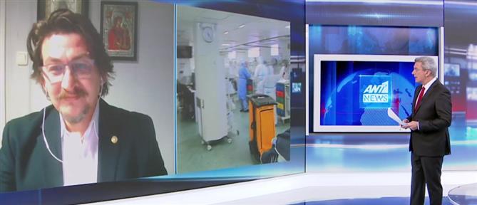 Κορονοϊός - Μπλούχος στον ΑΝΤ1: Γενναία η ενίσχυση στο Νοσοκομείο Δράμας (βίντεο)