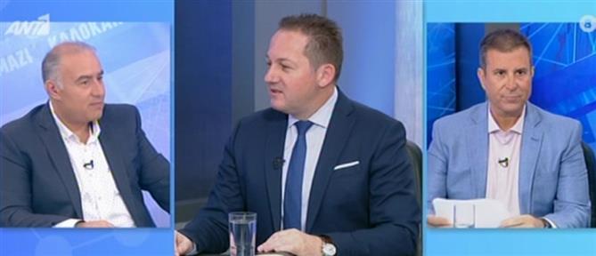 Πέτσας στον ΑΝΤ1: βαθιά πληγή οι καταγγελίες Καλογρίτσα (βίντεο)