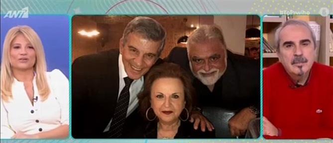 Ο Γιώργος Γερολυμάτος αφιέρωσε τραγούδι στην Ματίνα Παγώνη (βίντεο)