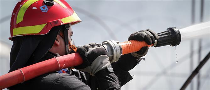 Συναγερμός στην Πυροσβεστική για φωτιά σε μονοκατοικία