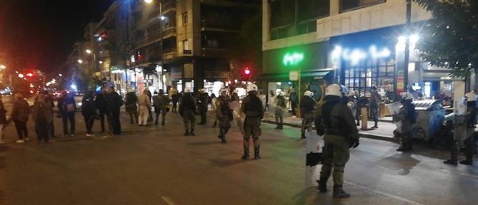 Πορεία αντιεξουσιαστών στην Αθήνα (βίντεο)