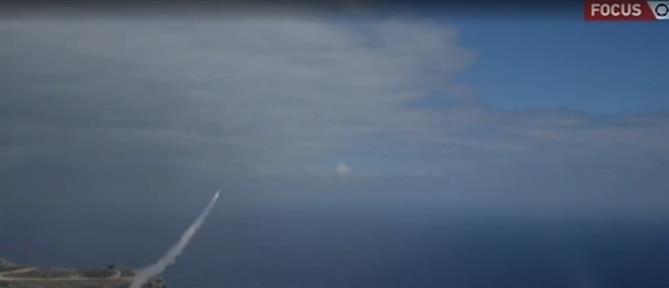 Μεγάλη άσκηση με πυραύλους Patriot στο πεδίο βολής Κρήτης (βίντεο)