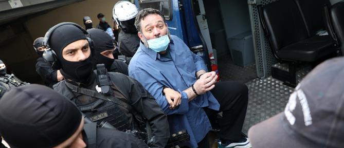 Γιάννης Λαγός: Στις φυλακές Δομοκού με συνοπτικές διαδικασίες (εικόνες)