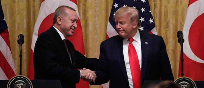 Επικοινωνία Τραμπ - Ερντογάν για Λιβύη και Συρία