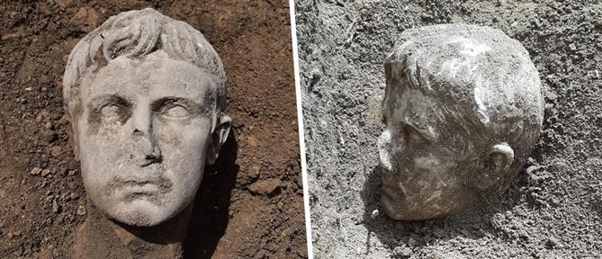 Αύγουστος: βρέθηκε κεφαλή 2000 ετών του πρώτου αυτοκράτορα της Ρώμης (εικόνες)