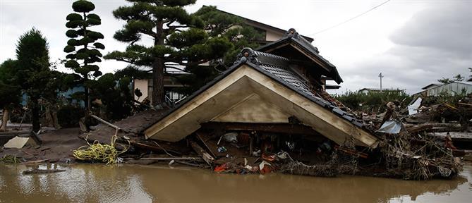 Τυφώνας Χαγκίμπις: μετρά νεκρούς και καταστροφές η Ιαπωνία