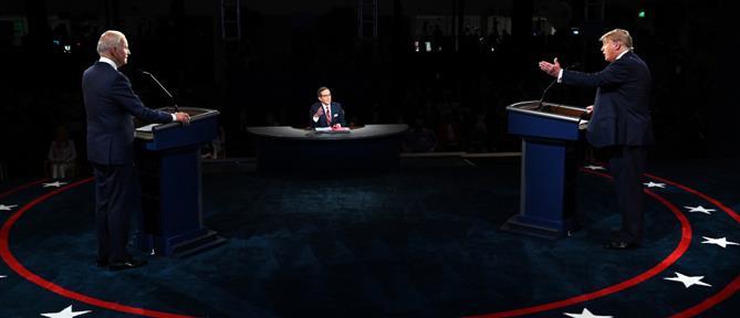 Αμερικανικές εκλογές 2020: live το debate Τραμπ - Μπάιντεν