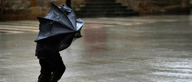 Καιρός: τοπικές βροχές και ισχυροί άνεμοι το Σάββατο