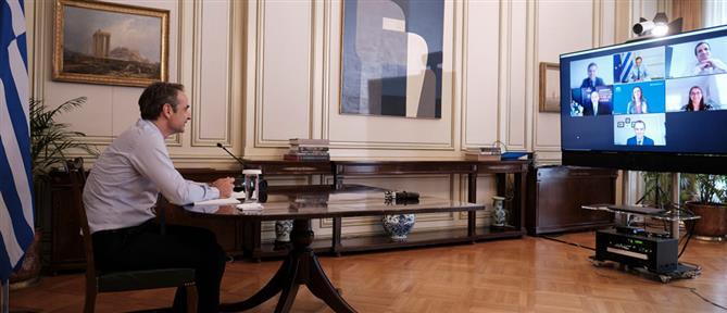 Μητσοτάκης: Θετική για την Ελλάδα και το ευρωπαϊκό εγχείρημα η πρόταση της Κομισιόν