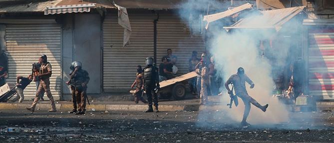 """Ιράκ: """"λουτρό αίματος"""" στις διαδηλώσεις (εικόνες)"""