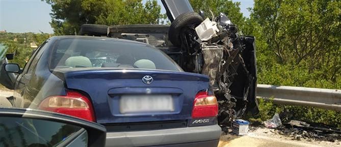 Χαλκιδική: Μετωπική σύγκρουση αυτοκινήτων με τραυματίες (εικόνες)