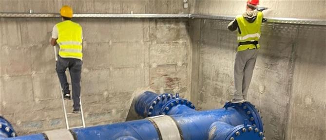 Αίγινα: καθυστερήσεις στην ύδρευση από τον υποθαλάσσιο αγωγό