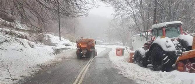 O καιρός την Πρωταπριλιά: παγωνιά, βροχές και χιονοπτώσεις