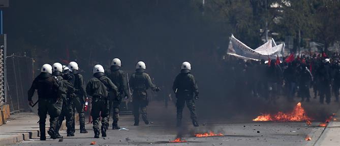Θεσσαλονίκη: επεισόδια με μολότοφ και χημικά (εικόνες)