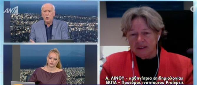 Κορονοϊός - Λινού στον ΑΝΤ1: Πιθανό να πάμε σε τετραψήφιο αριθμό κρουσμάτων (βίντεο)