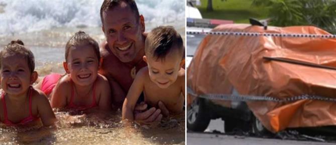 Φρίκη! Έκαψε τη γυναίκα και τα παιδιά του! (εικόνες)