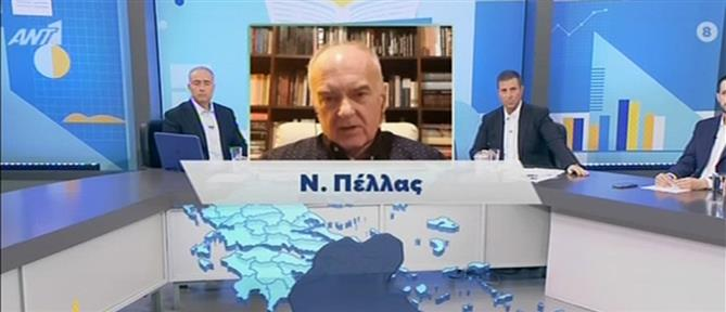 Κορονοϊός - Καλούδης στον ΑΝΤ1: ζητάμε πιο αυστηρό lockdown στην Πέλλα (βίντεο)