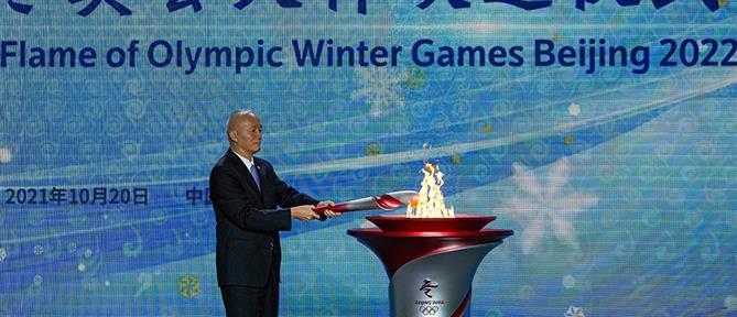 Χειμερινοί Ολυμπιακοί Αγώνες: Η Ολυμπιακή Φλόγα έφτασε στην Κίνα