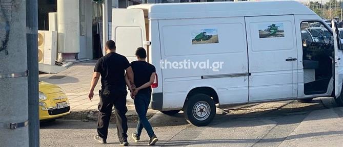 Θεσσαλονίκη: Κινηματογραφική καταδίωξη λαθροδιακινητή (εικόνες)
