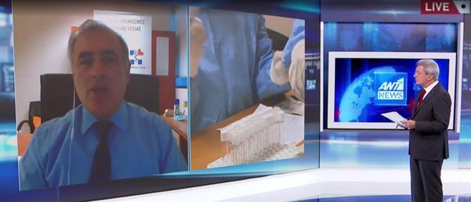 Παναγιωτακόπουλος στον ΑΝΤ1: διπλασιάζονται τα ημερήσια τεστ για κορονοϊό (βίντεο)