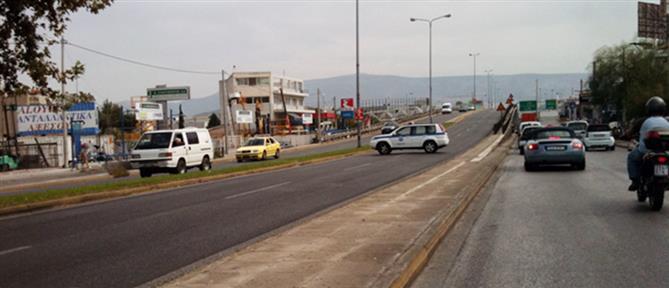 Κυκλοφοριακά προβλήματα στην Λεωφόρο Αθηνών