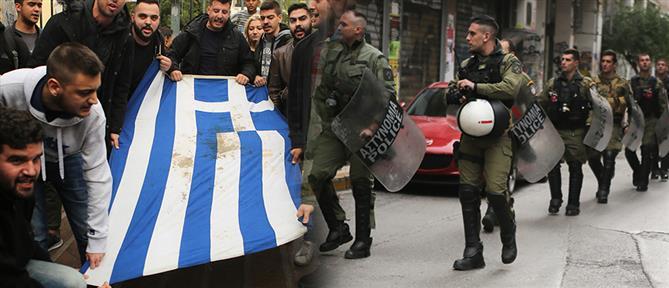 Πολυτεχνείο: πορεία εν μέσω χιλιάδων αστυνομικών (εικόνες)