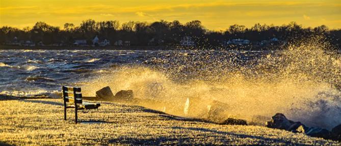 Καιρός: ενισχυμένοι άνεμοι και παγετός την Πέμπτη