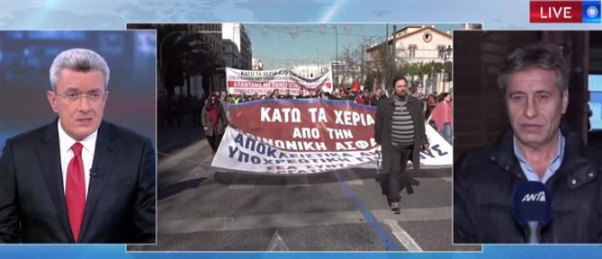 Παρασκευόπουλος στον ΑΝΤ1: Ενημερώσαμε εγκαίρως την ΤΡΑΙΝΟΣΕ για την απεργία (βίντεο)