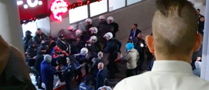 Ολυμπιακός: βαριά τιμωρία για τα επεισόδια στο ντέρμπι με τον ΠΑΟΚ