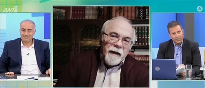 Ο Πέτρος Δαμιανός στον ΑΝΤ1 για την τηλεκπαίδευση στις Φυλακές Ανηλίκων (βίντεο)