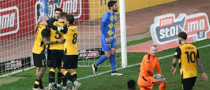 """Κύπελλο: Με """"περίπατο"""" η ΑΕΚ στους """"4"""""""
