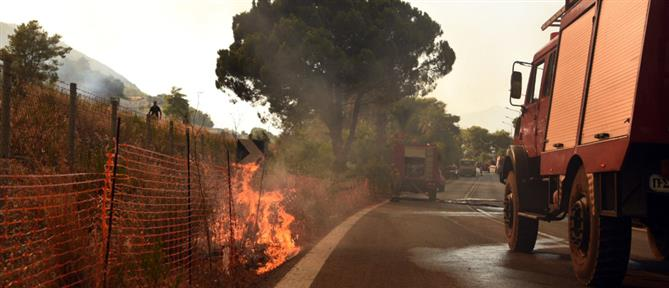 Φωτιά στην Αχαΐα – Χρυσοχοΐδης: Είμαστε σε επαγρύπνηση