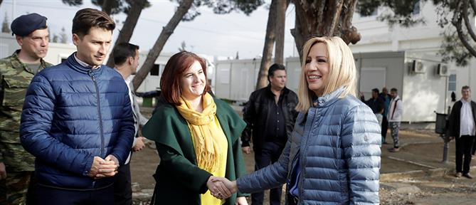 Γεννηματά: η Ελλάδα δεν αντέχει άλλες Μόριες