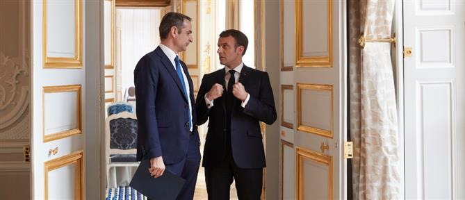 Μακρόν: θα ενισχύσουμε τη στρατιωτική μας παρουσία στη Μεσόγειο