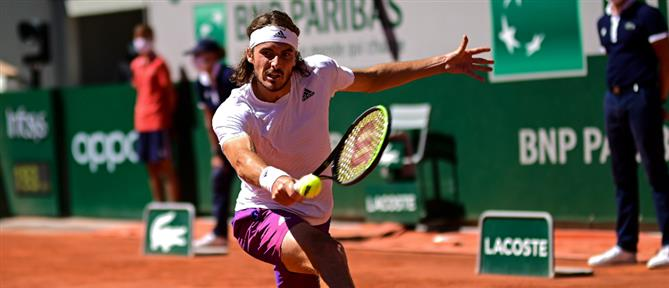Roland Garros - Τσιτσιπάς: Ελπίζω να επιστρέψω (βίντεο)