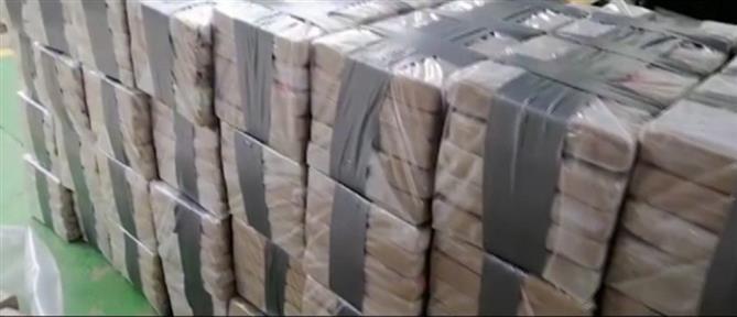 Τόνοι κοκαΐνης βρέθηκαν σε κοντέινερ