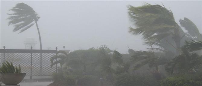 Καιρός: ισχυρές βροχές, καταιγίδες και ισχυροί άνεμοι το Σάββατο