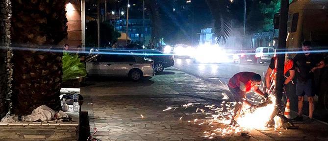Τροχαίο δυστύχημα στην Καβάλα: Παρασύρθηκαν πεζοί που πήγαιναν σε γλέντι (εικόνες)