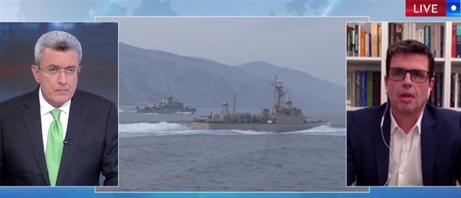 """Καιρίδης στον ΑΝΤ1: Η Τουρκία """"φλερτάρει"""" με ένα θερμό επεισόδιο (βίντεο)"""