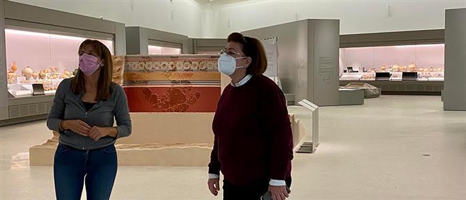 Χανιά - Μενδώνη: Αυτοψία στο υπό κατασκευή Αρχαιολογικό Μουσείο (εικόνες)