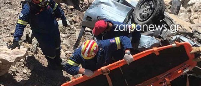 Τροχαίο στη Γαύδο: Νέο στοιχείο στο διαλυμένο αυτοκίνητο που ξεψύχησε η Κορίνα (εικόνες)