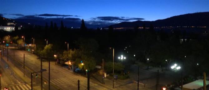 Κορονοϊός: Time lapse βίντεο από την άδεια Αθήνα