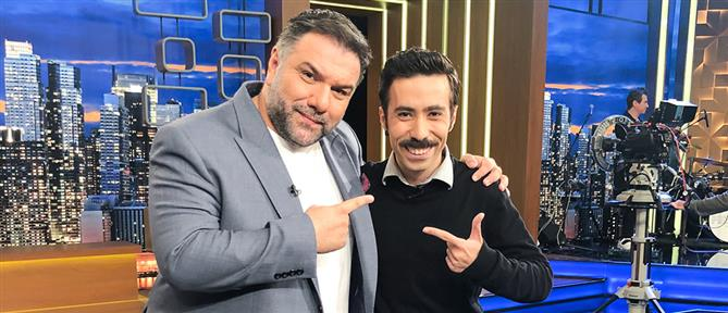"""The 2Night Show"": ο Αντώνης Καλομοιράκης στην πρώτη του τηλεοπτική συνέντευξη (βίντεο)"