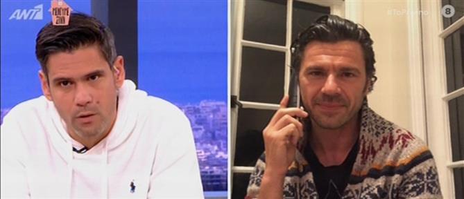 Ο Χρήστος Βασιλόπουλος θα γίνει για πρώτη φορά μπαμπάς (βίντεο)