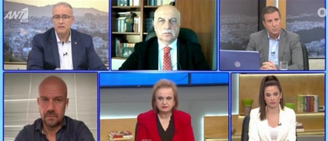 Τζανάκης – Παγώνη στον ΑΝΤ1 για τις μετακινήσεις το Πάσχα (βίντεο)